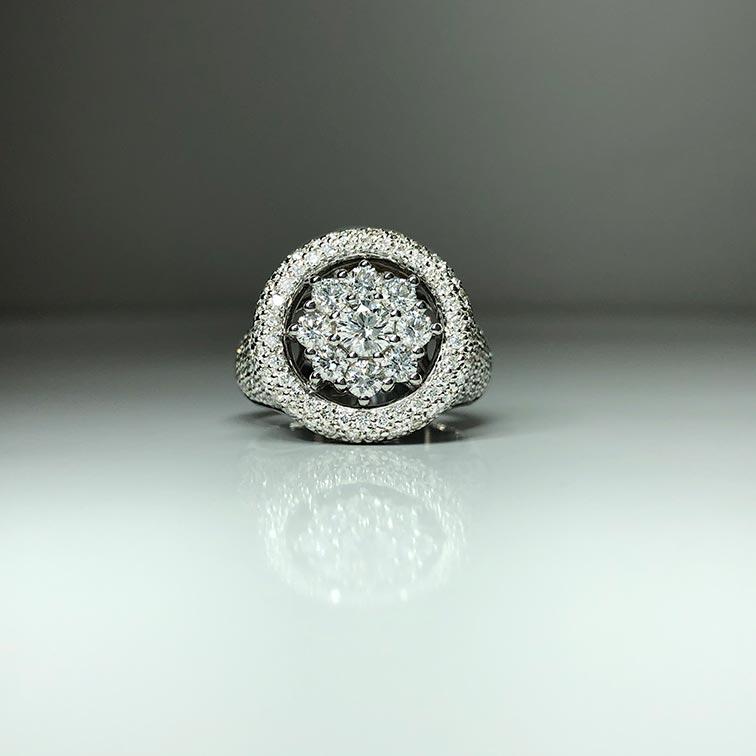 18KW Dia Ring