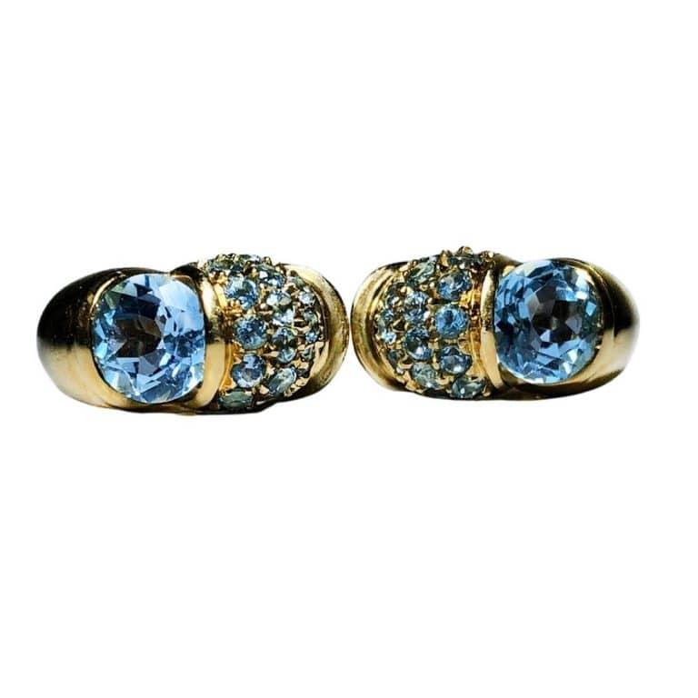 PGS Cielo Venzia Topaz Earrings
