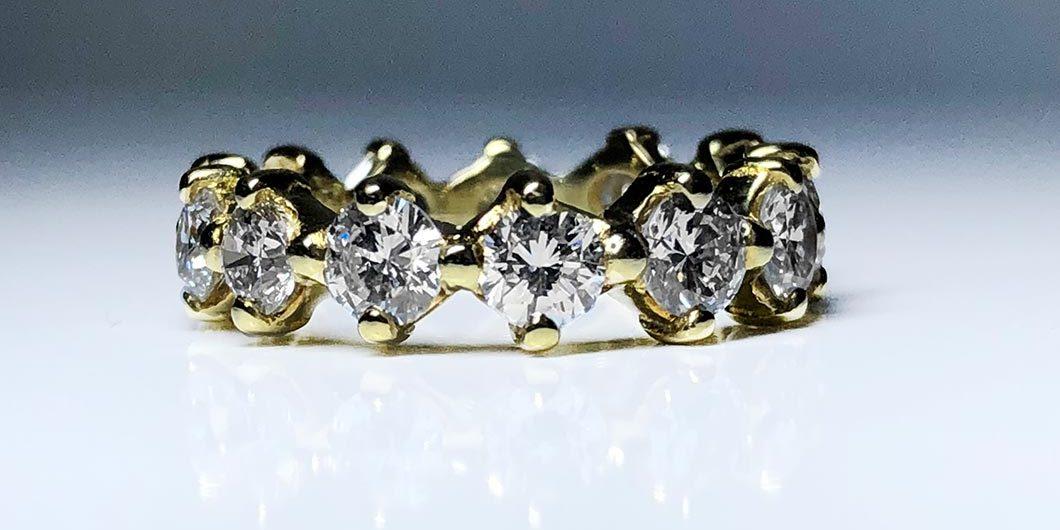 18KY Dia Eternity Ring