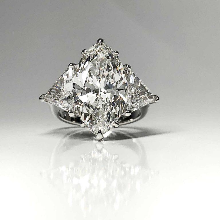 6.54 MQ I SI1 Diamond Ring