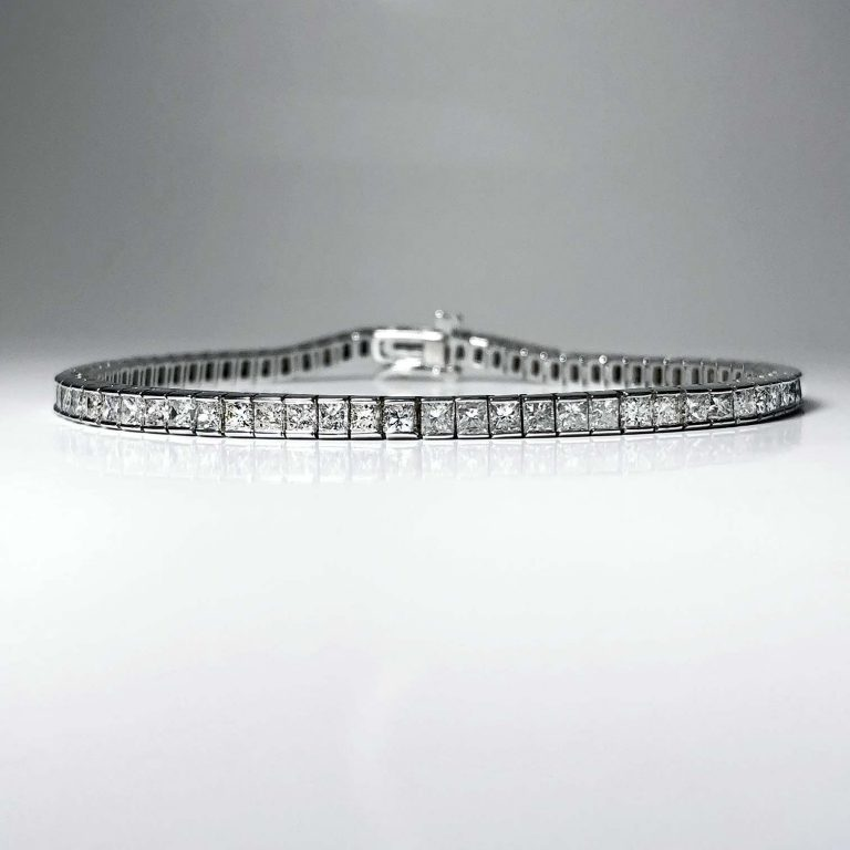14KW PR Line Bracelet