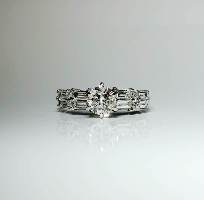 14KW Engagement Ring