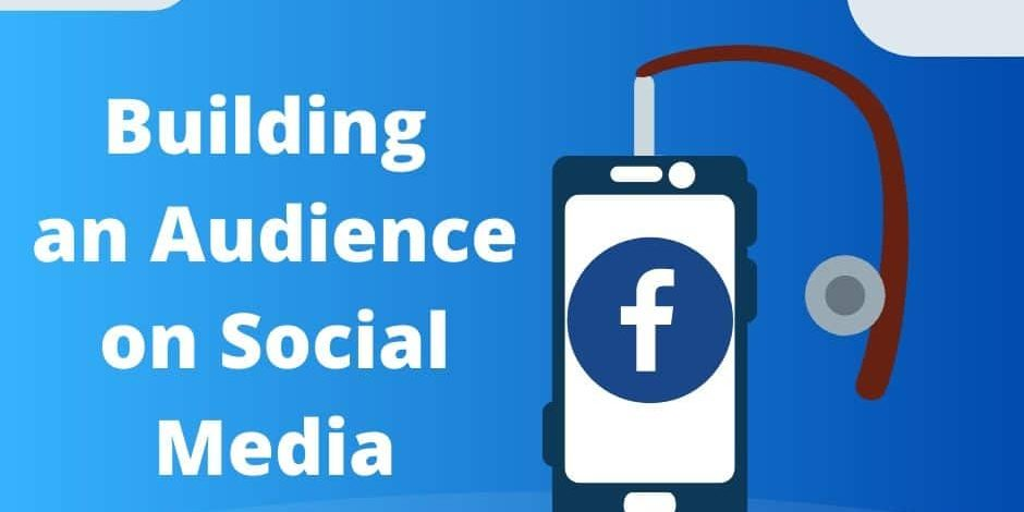Building an Audience on Social Media - Fishing pole with a phone hooked on the line.