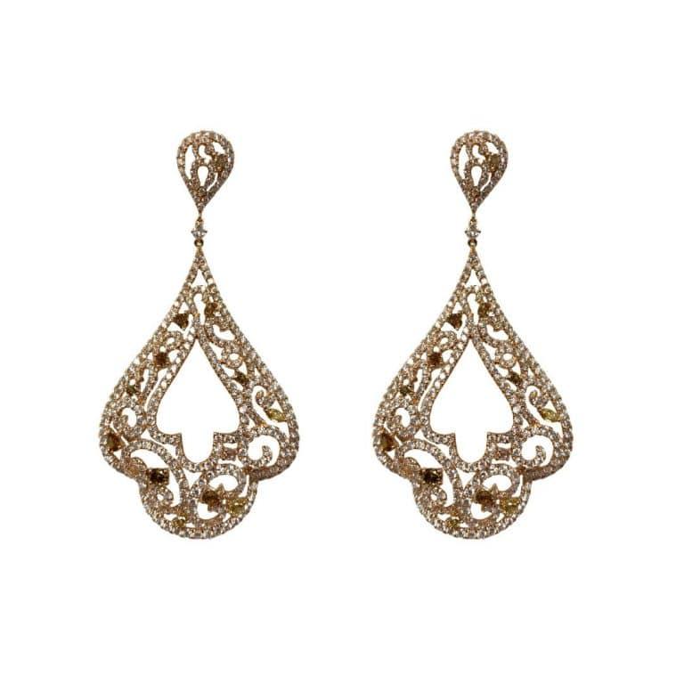 18KR Diamond Earrings